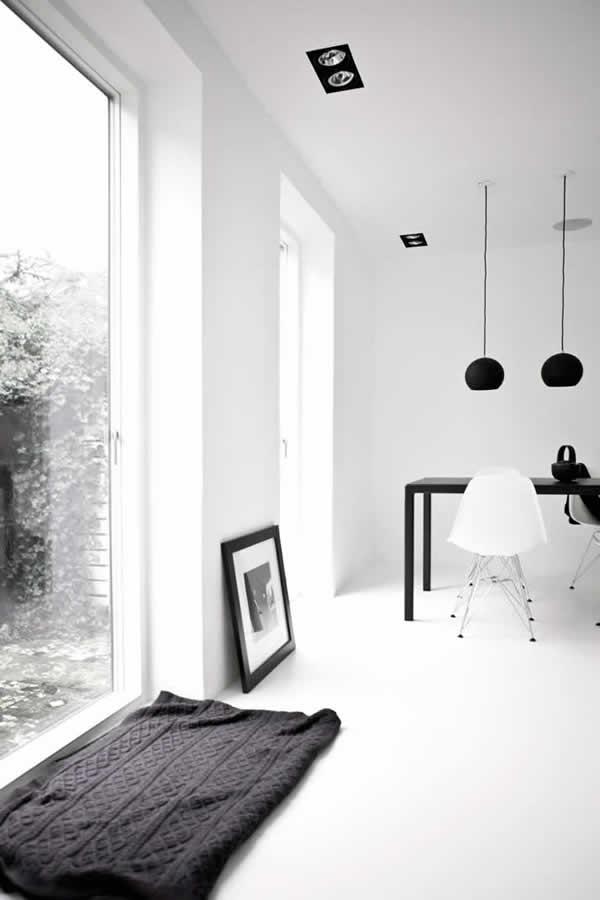学习装潢设计客厅一角