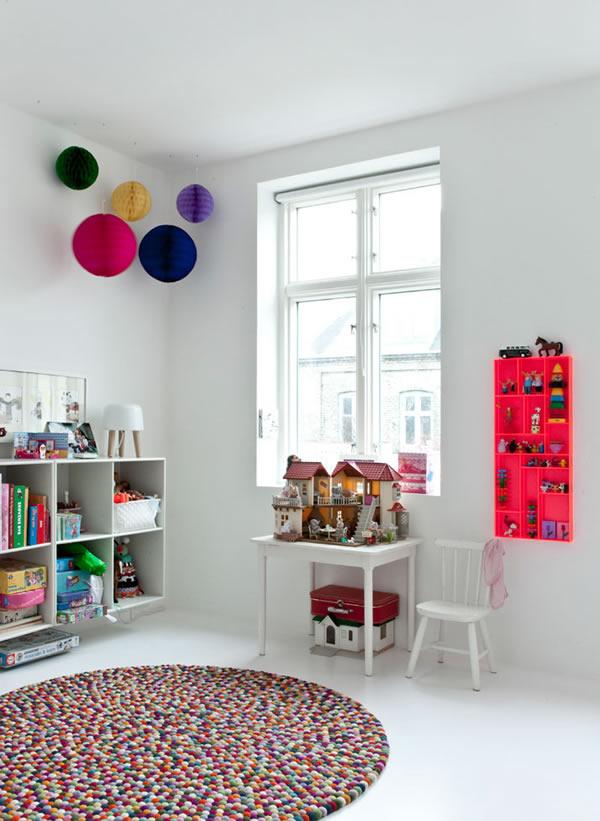 白色简约装修风格之儿童房