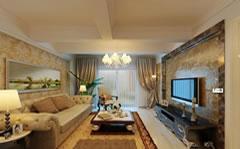豪华客厅装修设计图