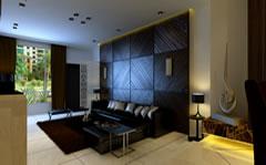 高档宾馆客厅装潢设计效果图